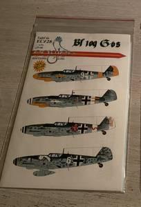 Bilde av Bf 109G-6 Decals, Eagle Ed. Ltd.
