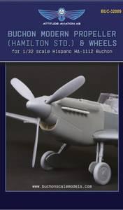 Image of 1/32 Buchon Modern Propeller (Hamilton std.) and